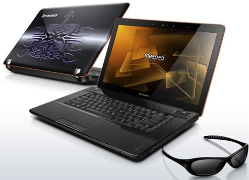 Lenovo IdeaPad Y560d 3d laptop