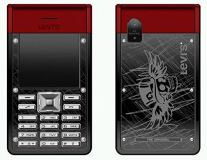 Red Tab Levi Cell Phone