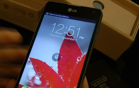 LG Optimus G display review