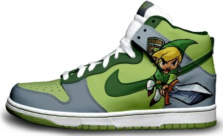Link Zelda Sneakers