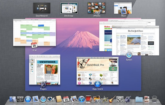OS X Lion launch