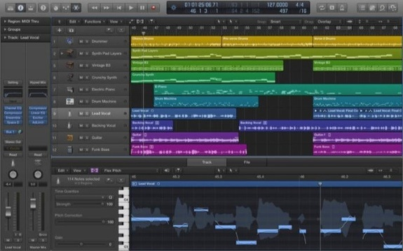 Apple Logic Pro X 10.0.7