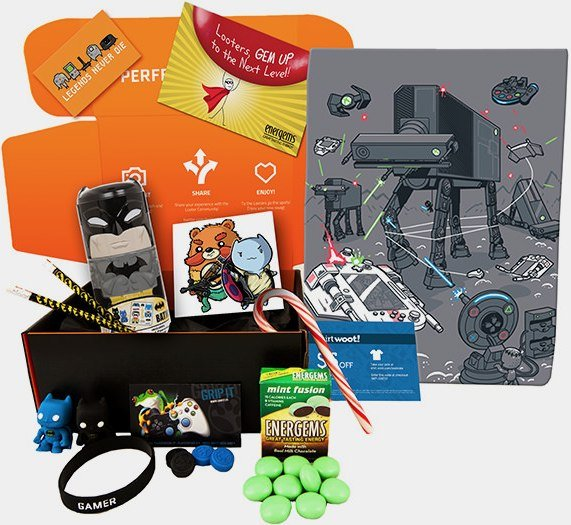 Loot Crate console wars giveaway