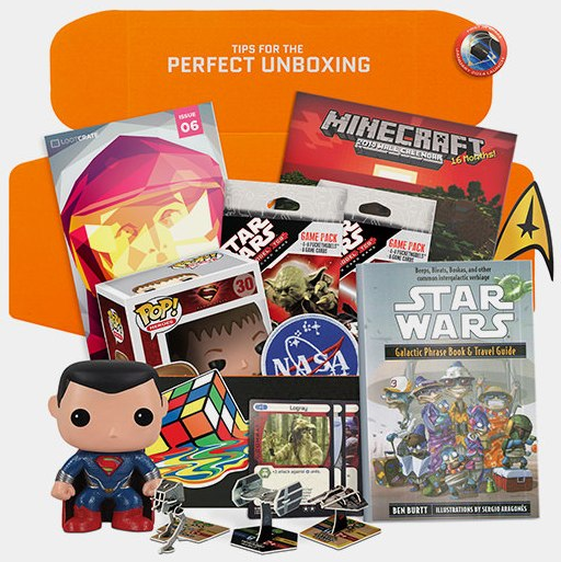 Loot Crate launch giveaway