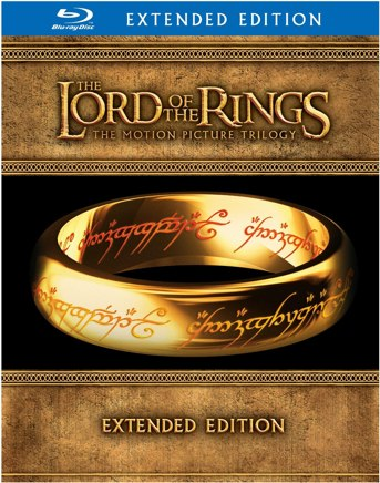 Lord of the Rings Extended Edition Blu-ray