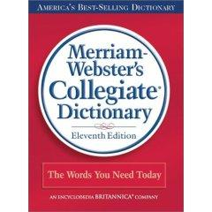 M-W Dictionary