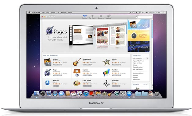mac app store 1 million