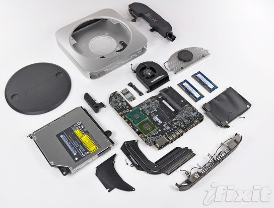 Mac mini unibody teardown