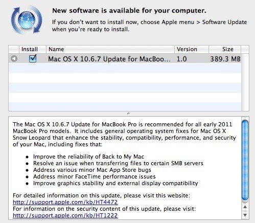 Mac OS X 10.6.7 Snow Leopard
