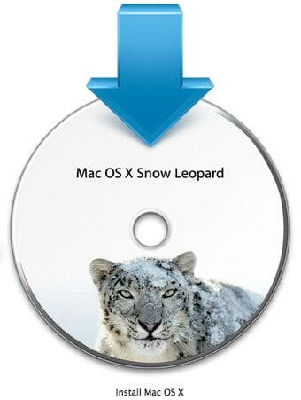 Snow Leopard Install Icon