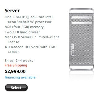 mac pro server