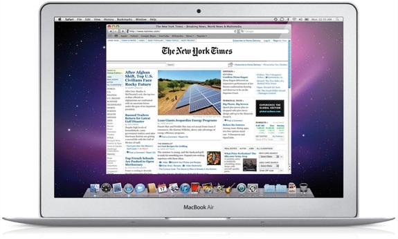 MacBook Air 11-inch holiday gift