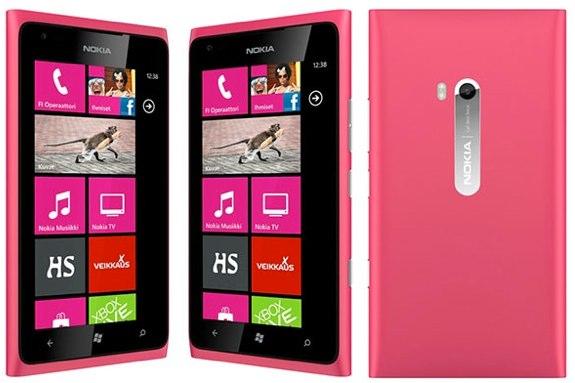 Magenta Lumia 900