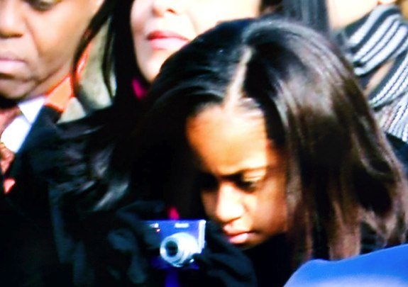 Malia Obama Kodak EasyShare M893 IS