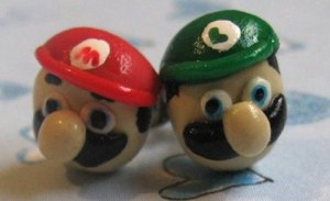 mario-luigi-earrings