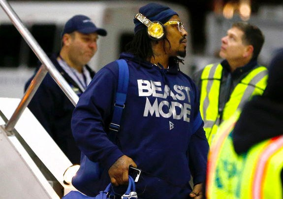Marshawn Lynch Monster 24k headphones