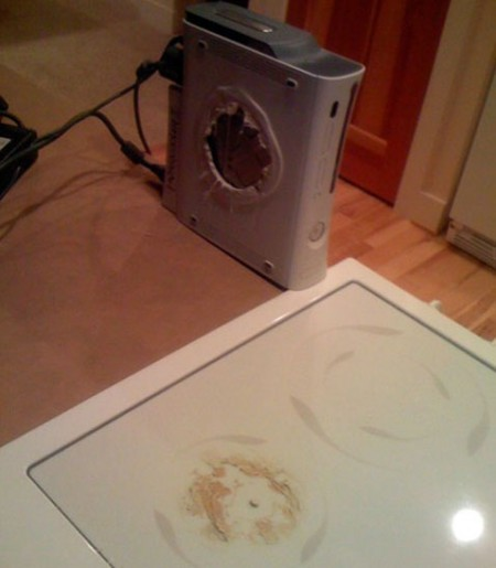 Melted Xbox 360