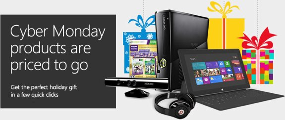 Microsoft store cyber Monday