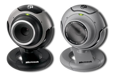 Microsoft LifeCam VX-3000 and VX-6000