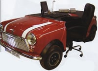 Mini Cooper Desk