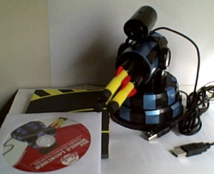 MSN Missile Launcher/Webcam