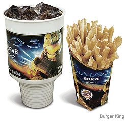 Halo 3 Burger King