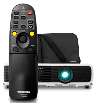 Toshiba Audible Projector