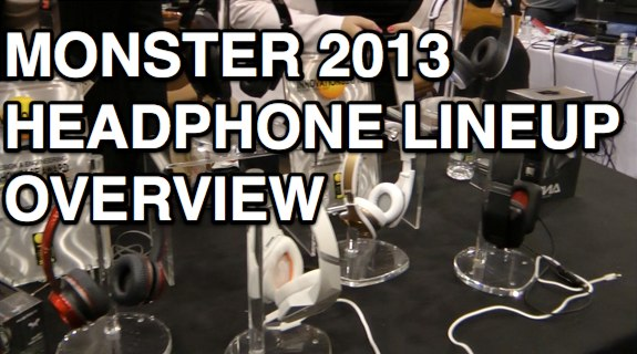 Monster Headphones ces 2013