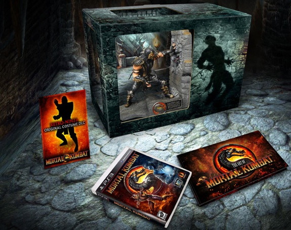 mortal kombat kollectors edition sale
