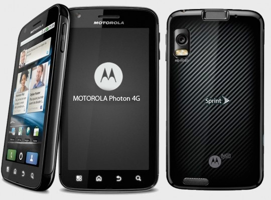 Motorola Photon 4G smartphone