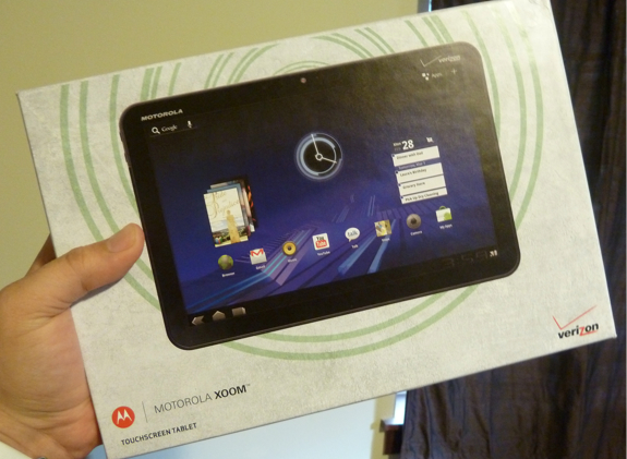 motorola xoom box