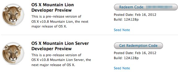 Mountain Lion 12A128p download