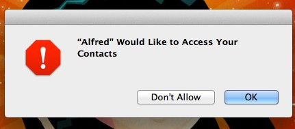Mountain Lion Access Contacts