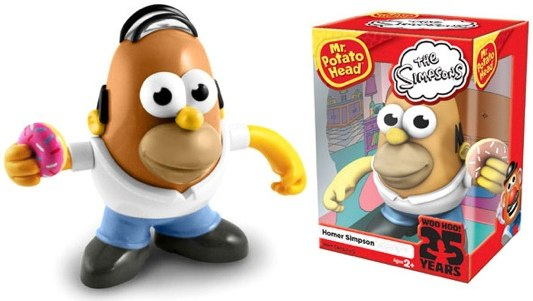 Mr. Potato Head Homer Simpson