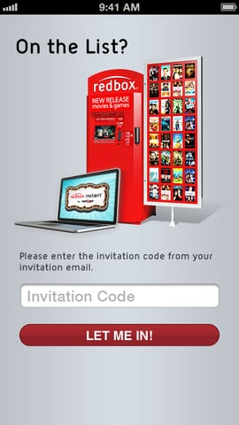RedBox Instant iOS app (2)