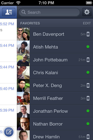 Facebook Messenger App VoIP