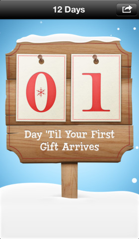 12 Days of Christmas iOS App