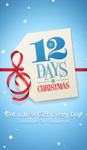 12 Days of Christmas iOS app (2)