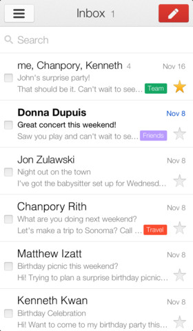 Gmail app 2.0 iOS (2)
