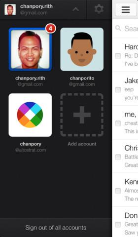 Gmail app 2.0 iOS