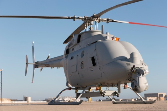 Navy unmanned helicopter linux