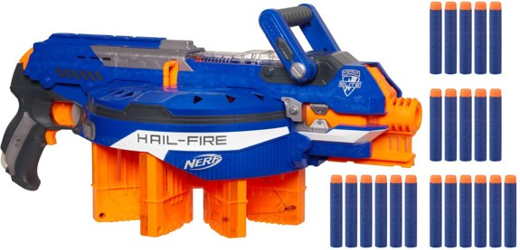Nerf N-Strike Elite Hail-Fire Blaster