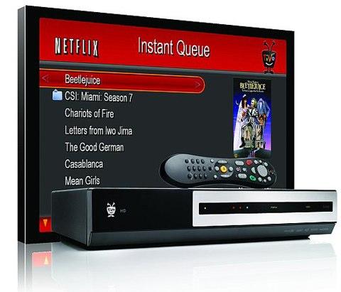 Netflix streaming TiVo