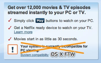 Netflix Watch Instantly Mac