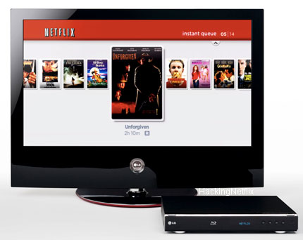 LG/Netflix Blu-ray Player