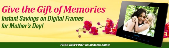 Newegg Digital Photo Frame Sale