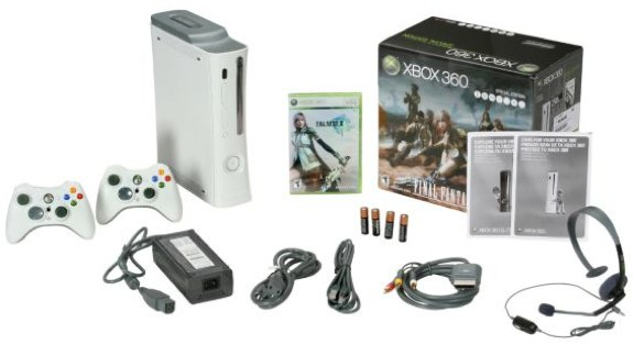 Xbox 360 FInal Fantasy XIII bundle promo code newegg
