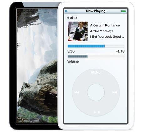 Widescreen iPod video