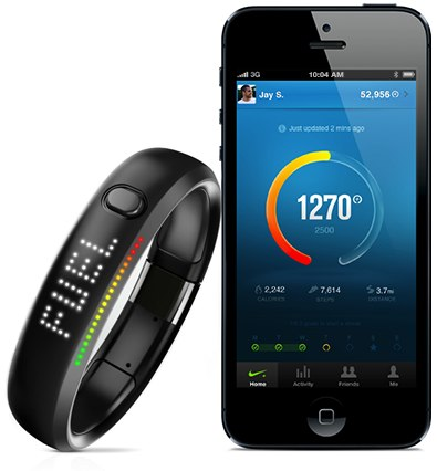 Nike FuelBand iOS Android app