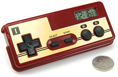 Nintendo Controller Alarm Clock